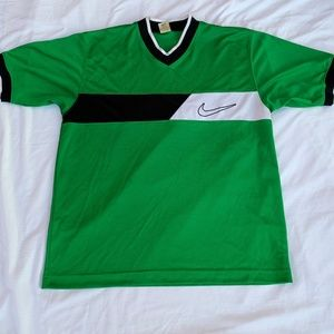 Nike Green Sports Jersey Athletic